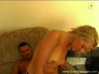 Blonde Milf From Holland Pleases The Cock