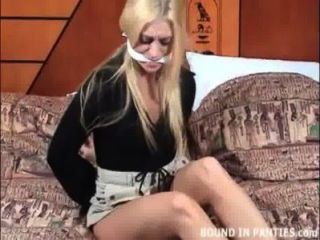 Keli Anderson Bound And Gagged In A Hotel Room