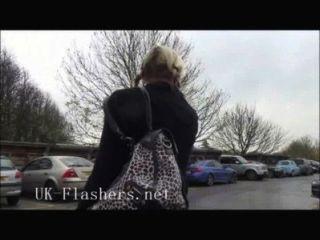 Skinny Blonde Deedees Public Nudity