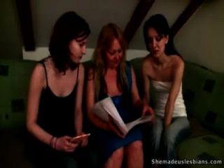 Lustful Teacher Taught Teen Girls How To Be Lesbians