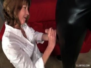 Naughty Milf Jerks Off The Mysterious Man