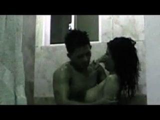 Mystica & Troy Montez A.k.a. Kidlopez Nude Shower