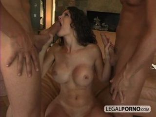 Three Horny Girls Getting Fucked By Two Guys With Big Dicks Gb-3-04