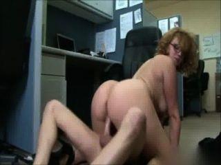 Big Booty Office Girl