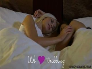 Damn Beautiful Teen Lesbians Henessy And Lola Loves Tribbing So Much