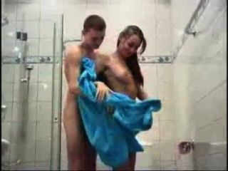 Fucking My Girlfriend In The Shower
