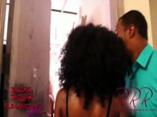 Black Teen Slut Sucks Off 10 Guys