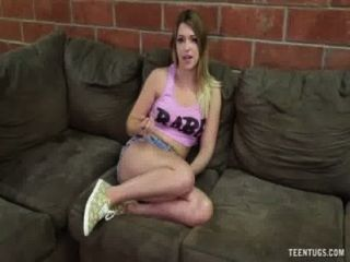 Hot Teen Bimbo Handjob