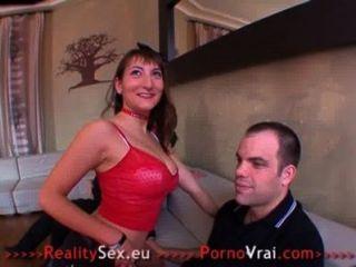 French Pornstar Charlotte De Castille Big Partouze Amateur !
