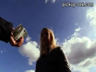 Czech Girl Monika Pounded With Stranger For Some Money