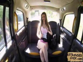British Teen Fucks Cab Driver Stella Cox.1.1