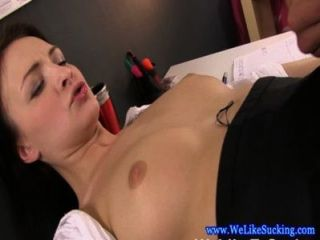 Blowjob Loving Girlfriend Fucks And Sucks