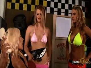 Swedish Stunner Puma Swede Fucks 2 Girls With Strap On!