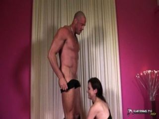 Cock Hungry Tina Kay Sucks Stiff Cock And Gets Fucked
