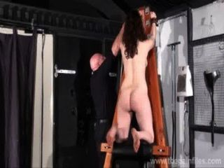 Kinky Beauvoirs Dungeon Preparation And Tied Hand Spanking Of Naughty Fetish