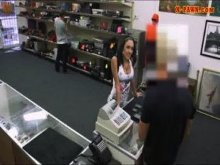 Big Titty Latina Sells Her Stuff And Railed By Pawnkeeper