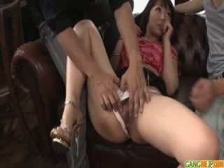 Hot Milf Izumi Manaka Gets Naked For A Japanese Creampie