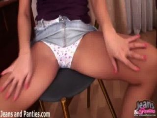 Mimmie Pulling Up Her Skirt And Flashing Her Panties