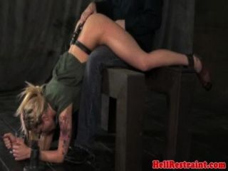 Maledom Master Spanking Worthless Submissive Bitch