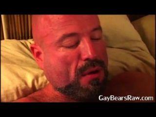 Alex Blowing Big Bear Cock