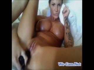 M.i.l.f Bigtits Camgirl Fuck Toys Nonstop In A Hour On Webcam