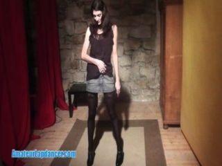 Hot Show By Czech Queen Of Striptease