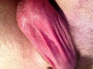 Balls And Asshole Contract As I Cum Solo
