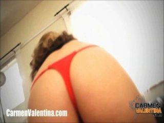 Carmen Valentina Eats Out Pale Lesbian Sluts Pussy