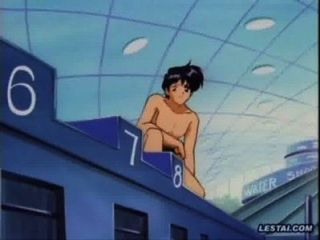 Anime Lesbian Underwater Fuck