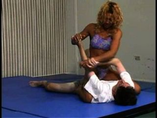 Viktoria vs david competitive mixed wrestling 9