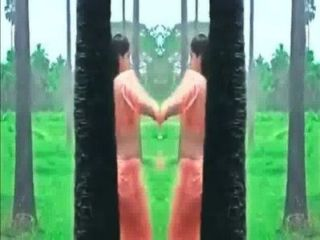 Kerala Girl Meghana Raj - Hot Ass Shake And Navel Show In Wet Saree