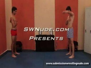 Sexy Euro Boys Erotic Wrestling