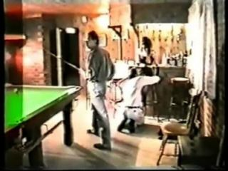 1980s- Amateur Stripper Gang Bang In Snooker Hall