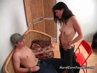 Skinny Babe Fucked In Her Room