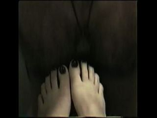 Jade 1st Time Footjob