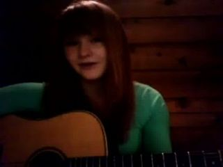 Natalie Beautiful Singing Redhead