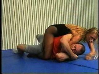 Flamingo Mixed Wrestling Mw086 - Jessica Vs Charlie Part2