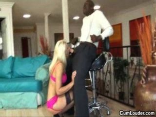 Anika Albrite Takes A Giant Black Dick Up Her Pussy