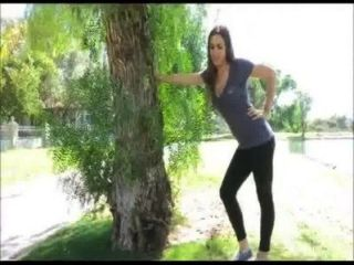 Hot Perfect Breasts Jogging And Bouncing