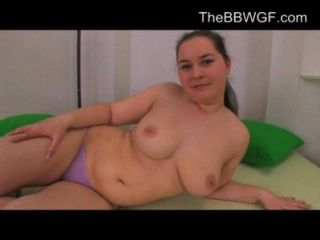 Horny Fat Chubby Teen Gf Showing Her Pussy And Body