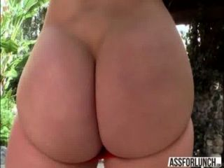 Alluring Blonde Ashley Gets Anal Fucked Hard By Dude With A Big Cock