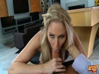 Sexy Julia Ann Suck Cock