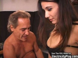 Blackmailed Bitch Electrocuted And Fucked By 2 Nutcases!