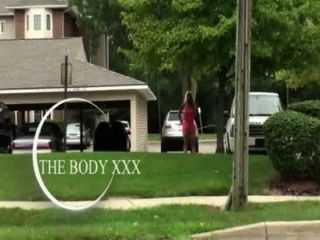 The Body Xxx: Taking Her Booty Out For A Walk