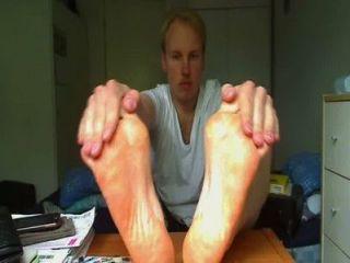 Sock Strip And Feet