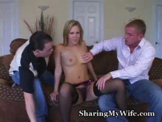 Wifey Slurping Up Some Cocks