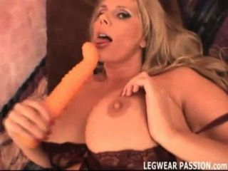 Busty Amateur Karen Humping A Huge Sex Toy