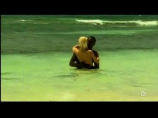 Young Blonde White Girl With Black Lover On The Beach - Interracial - Xhamster.com