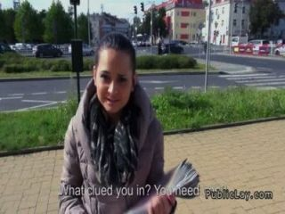 Czech Amateur Fucking Pov In Public For Cash