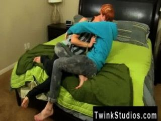 Hot Gay Scene In The End, Supertwink Kyler Shoots His Geyser With